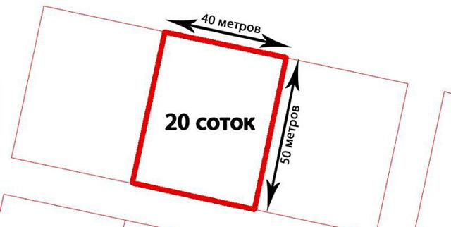 Сколько квадратных метров в одной сотке земли, как рассчитать площадь земельного участка
