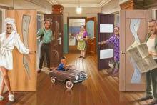 Как приватизировать жилое помещение в коммунальной квартире?