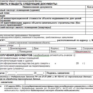 Выписка из технического паспорта БТИ форма 1б, что собой представляет, общая информация об использовании и получении