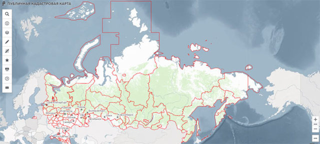 Посмотреть и проверить участок земли с помощью кадастрового номера