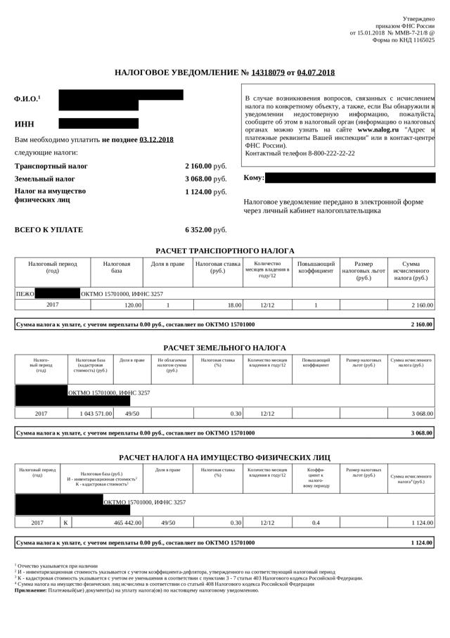 Памятка для налогоплательщиков: как и когда платить налог на имущество?