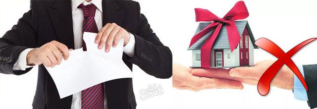 Имеет ли дарственная на квартиру обратную силу? Особенности и порядок ее отмены