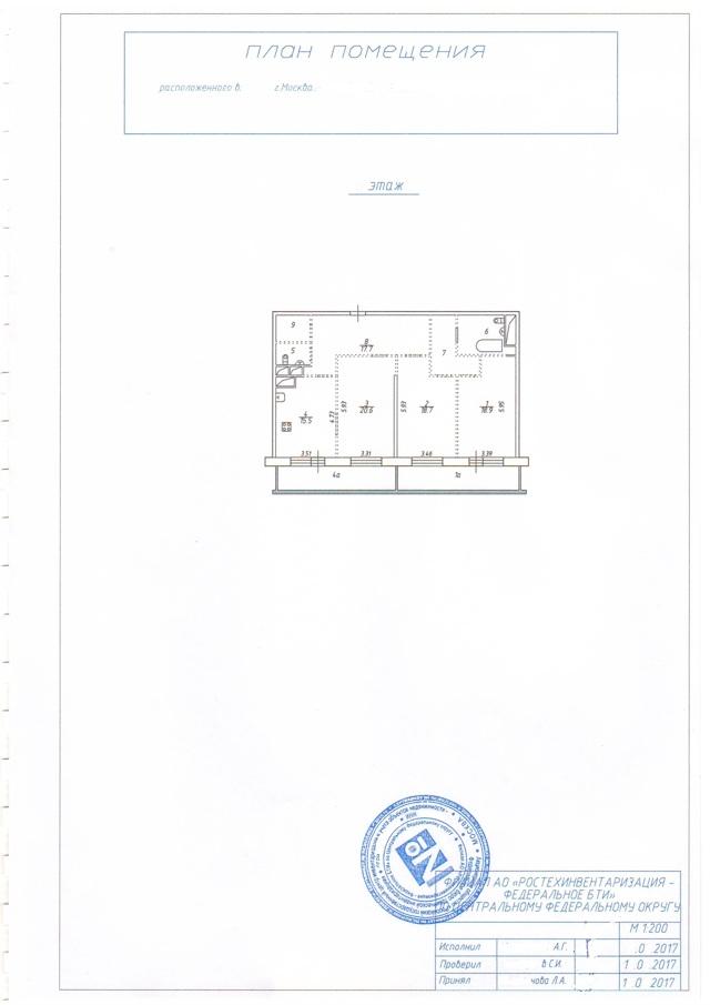 Технический паспорт на квартиру что содержит